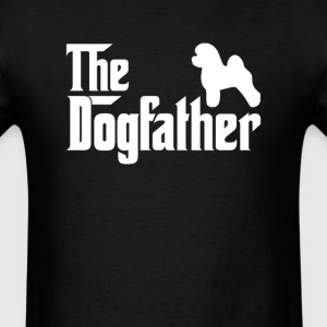 Bichon Frise DogFather T-Shirt T-Shirts - Men's T-Shirt
