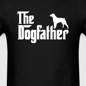 Brittany DogFather T-Shirt T-Shirts - Men's T-Shirt