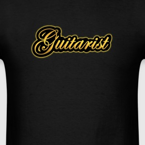Golden guitarist - Men's T-Shirt