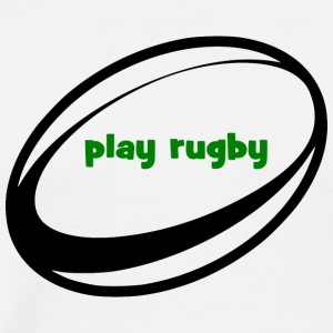 play Rugby - Men's Premium T-Shirt
