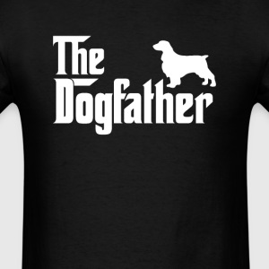 English Springer Spaniel DogFather T-Shirt T-Shirts - Men's T-Shirt