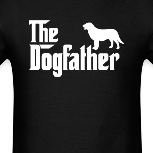 Flat-coated Retriever DogFather T-Shirt T-Shirts - Men's T-Shirt