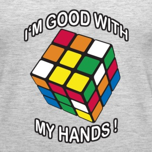 Rubik's Cube Good With My Hands - Women's Premium Tank Top