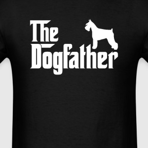 Miniature Schnauzer DogFather T-Shirt T-Shirts - Men's T-Shirt