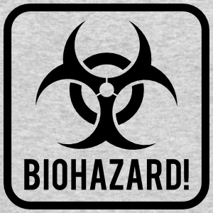 Biohazard Long Sleeve Shirts - Men's Long Sleeve T-Shirt by Next Level