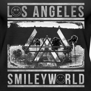 SmileyWorld Los Angeles Palm Trees - Women's Premium Tank Top