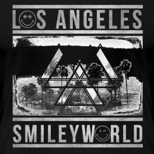 SmileyWorld Los Angeles Palm Trees - Women's Premium T-Shirt