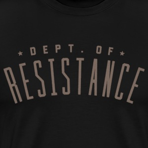 Dept. of Resistance T-Shirt - Men's Premium T-Shirt