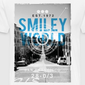 SmileyWorld San Francisco - Men's Premium T-Shirt