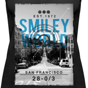 SmileyWorld San Francisco - Women's Premium Tank Top