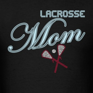 Lacrosse Mom Rhinestones - Men's T-Shirt
