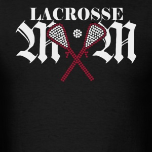 Lacrosse Mom Rhinestone - Men's T-Shirt
