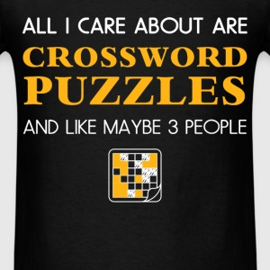 Crossword puzzles - All I care about are Crossword - Men's T-Shirt