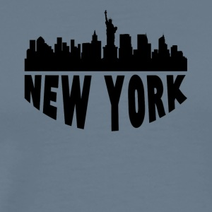 New York NY Cityscape Skyline - Men's Premium T-Shirt