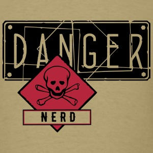 danger skull empty_vec_3 us T-Shirts - Men's T-Shirt