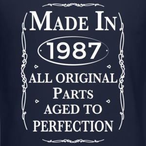 made in 1987 birthday Long Sleeve Shirts - Crewneck Sweatshirt