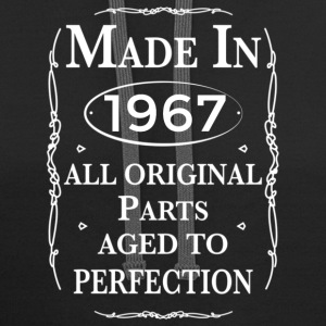 made in 1967 birthday Hoodies - Contrast Hoodie
