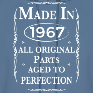 made in 1967 birthday Hoodies - Men's Hoodie