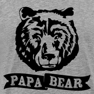 Papa Bear T-Shirts - Men's Premium T-Shirt