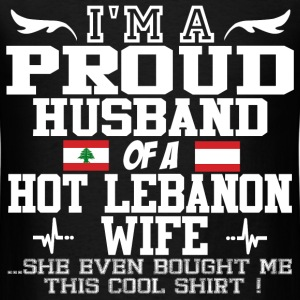 lebanon wife 11119209021.png T-Shirts - Men's T-Shirt
