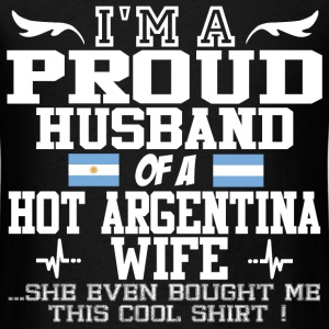 argentina wife 121290129012901.png T-Shirts - Men's T-Shirt