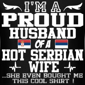 serbian wife 121920912019201.png T-Shirts - Men's T-Shirt
