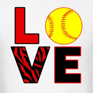 Love Softball - Men's T-Shirt