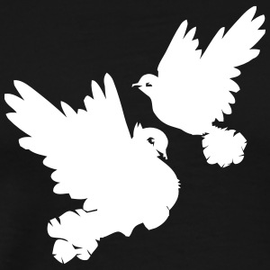 Pigeons and doves - Men's Premium T-Shirt