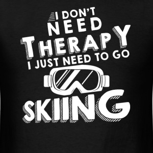 Therapy skiing T-Shirts - Men's T-Shirt