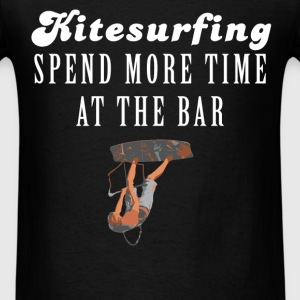 Kitesurfing - Kitesurfing - Spend more time at the - Men's T-Shirt