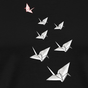 Origami flock - Men's Premium T-Shirt