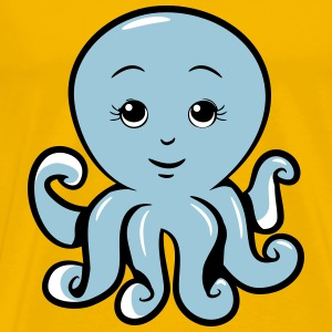 Squid oktopus sweet T-Shirts - Men's Premium T-Shirt