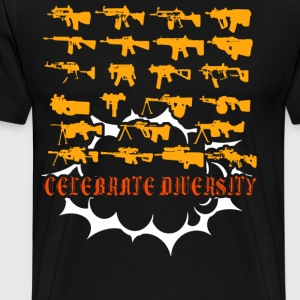 Celebrate Diversity Funny - Men's Premium T-Shirt