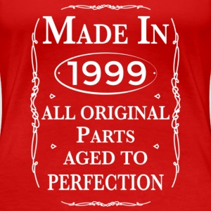 made in1999 birthday T-Shirts - Women's Premium T-Shirt
