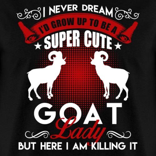 Super Cute Goat Lady Shirt