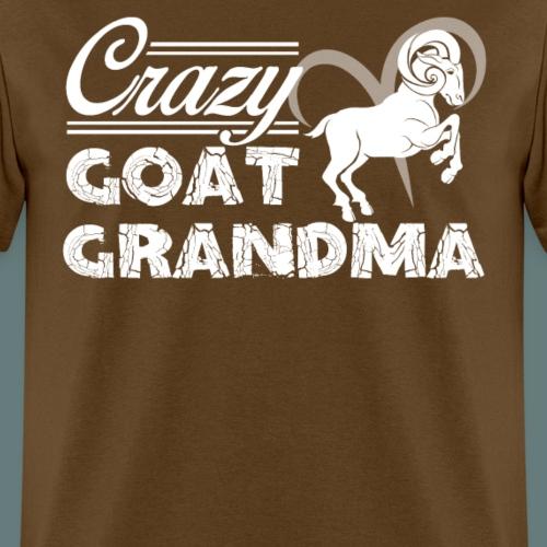 Crazy Goat Grandma Shirt