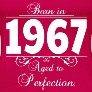 Born in Age 1967 birthday T-Shirts - Women's Premium T-Shirt
