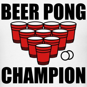 Beer Pong Champion T-Shirts - Men's T-Shirt