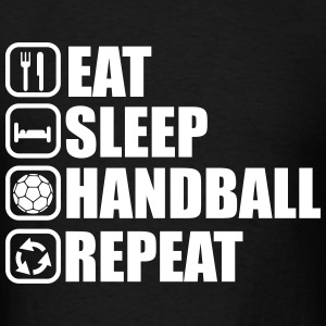 eat sleep handball repeat T-Shirts - Men's T-Shirt
