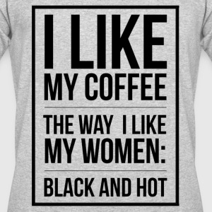 Coffee lovers design adult humor T-Shirts - Men's 50/50 T-Shirt