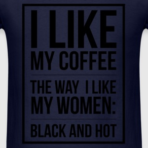 Coffee lovers design adult humor T-Shirts - Men's T-Shirt