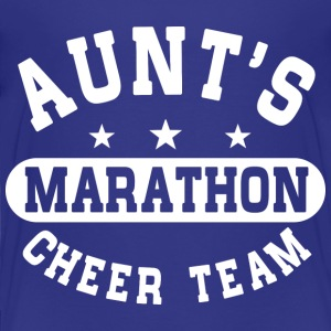 Aunts Marathon Cheer Team Baby & Toddler Shirts - Toddler Premium T-Shirt