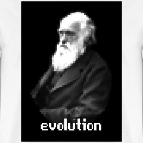 Darwin Pixel Portrait