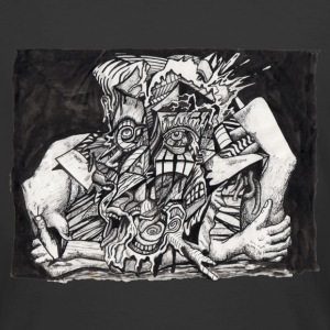 In The Grip by Brian Benson, T-shirt  - Men's 50/50 T-Shirt