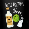 Best Friends Forever Tequila Lime Salt Humor - Full Color Mug