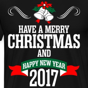 Have A Merry Christmas And Happy New Year 2017 T-Shirts - Men's Premium T-Shirt