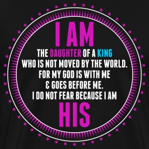 I Am A Daughter Of King T-Shirts - Men's Premium T-Shirt
