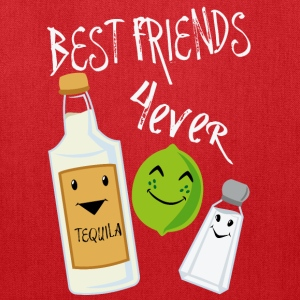 Best Friends Forever Tequila Lime Salt Humor - Tote Bag