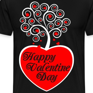 Happy Valentine Day T-Shirts - Men's Premium T-Shirt
