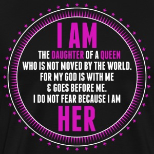 I Am A Daughter Of Queen T-Shirts - Men's Premium T-Shirt